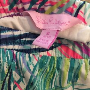 Lilly Pulitzer Bottoms - Girl's Lilly Pulitzer Palms Skirt- Worn once